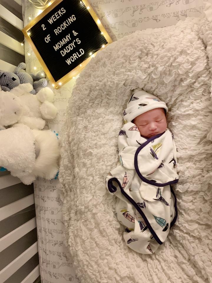Newborns' sleep pattern